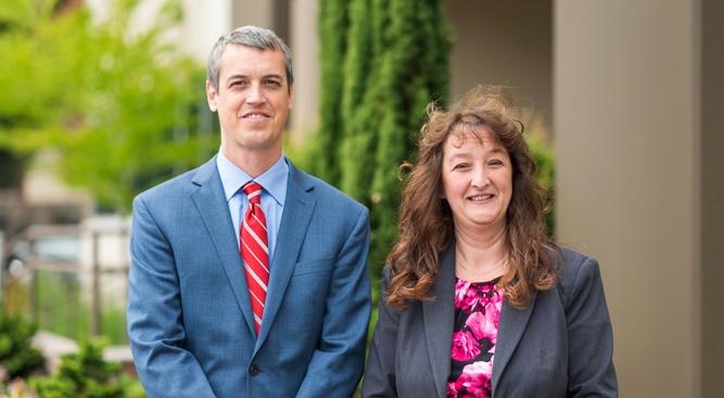 Michael Sheehy and Wendy Cochinella